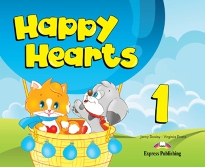 Happy Hearts 1 - Pupil´s Book (+ Stickers, Press Outs, Extra Optional Units and multi-ROM PAL)
