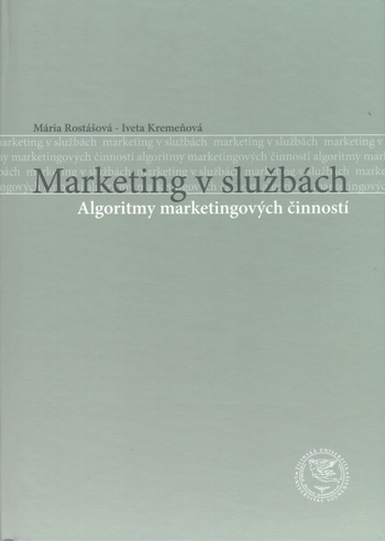 Marketing v službách - Algoritmy marketingových činností