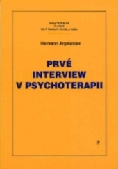 Prvé interview v psychoterapii