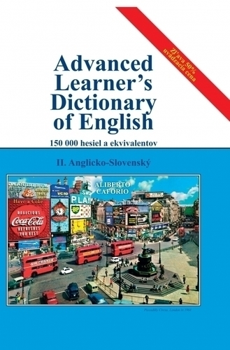 Advanced Learner s Dictionary of English, II. diel, Anglicko-Slovenský